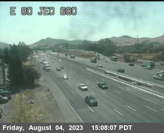 TV981 -- I-80 : East Of I-680