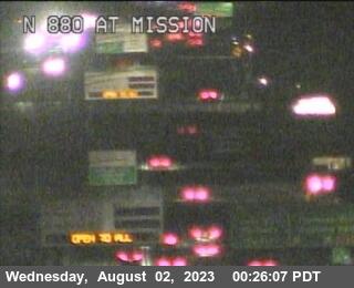 TVB02 -- I-880 : AT MISSION BL
