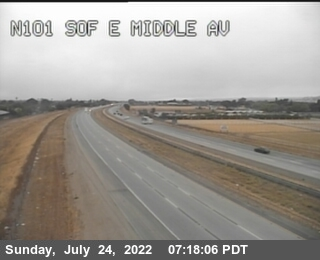 TVB45 -- US-101 : South Of East Middle Avenue
