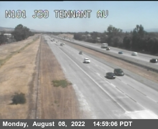 TVB46 -- US-101 : South Of Tenant Avenue