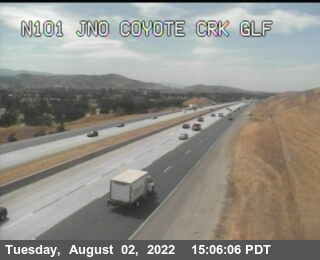 TVB48 -- US-101 : North Of Coyote Creek Golf Drive