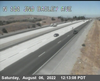 TVB49 -- US-101 : North Of Bailey Avenue