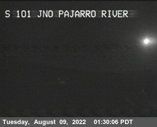 TVB60 -- US-101 : BEFORE PAJARRO RIVER BR
