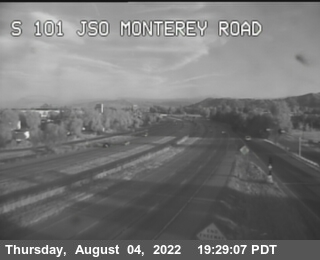 TVB63 -- US-101 : South Of Monterey Road