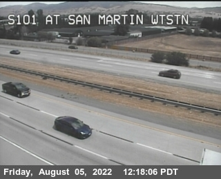 TVB66 -- US-101 : SAN MARTIN WEIGHT STATION