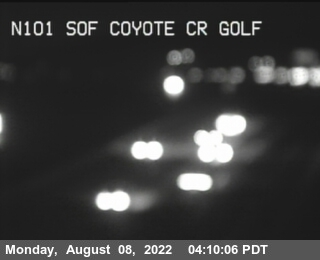 TVB69 -- US-101 : South Of Coyote Creek Golf Drive