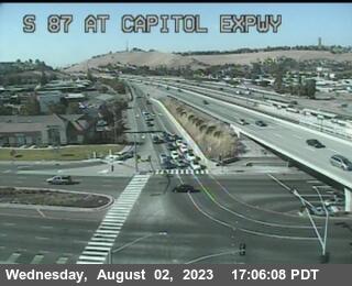 TVC83 -- SR-87 : Capitol Expressway