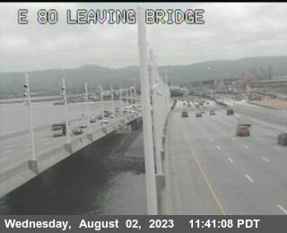 TVD39 -- I-80 : Leaving Bridge