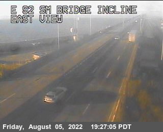 TVE02 -- SR-92 : San Mateo Bridge Incline