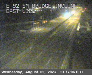 TVE02 -- SR-92 : San Mateo Bridge Incline