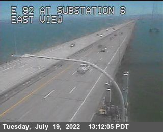TVE07 -- SR-92 : San Mateo Bridge Substation 6