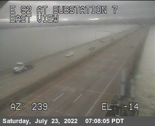 TVE08 -- SR-92 : San Mateo Bridge Substation 7