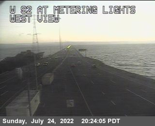 TVE15 -- SR-92 : San Mateo Bridge Metering Lights