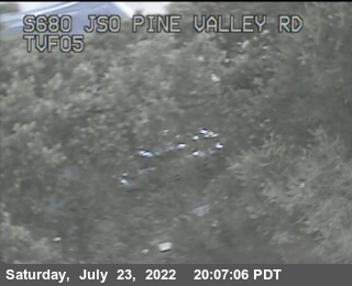 TVF05 -- I-680 : South of Pine Valley Road UC