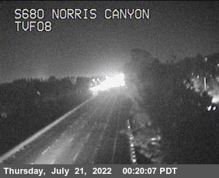 TVF08 -- I-680 : Just South Of Norris Canyon Road