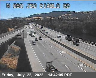 TVF14 -- I-680 : Just South Of Diablo Road