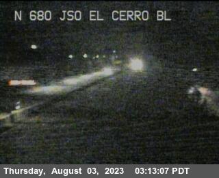 TVF15 -- I-680 : JSO El Cerro Blvd