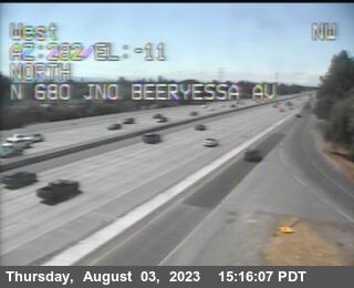 TVF53 -- I-680 : Just North Of Berryessa Avenue