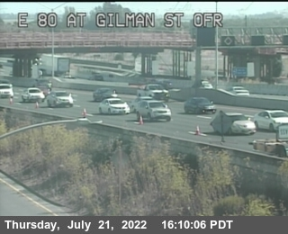 TVH06 -- I-80 : Gilman Street Offramp