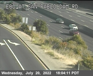 TVH15 -- I-80 : San Pablo Dam Road