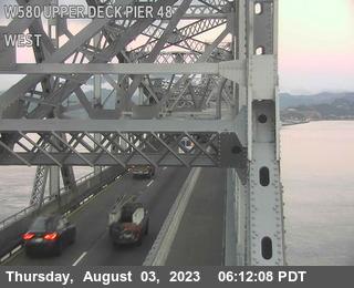 TVR02 -- I-580 :  Upper Deck Pier 48