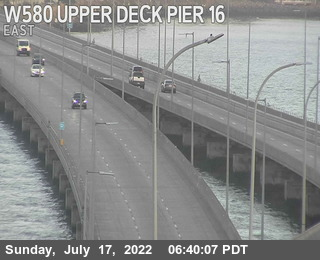 TVR10 -- I-580 :  Upper Deck Pier 16