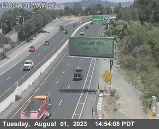 TVR20 -- I-580 :  Wof Main St