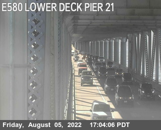 TVR23 -- I-580 :  Lower Deck Pier 21