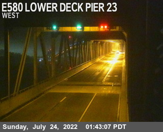 TVR24 -- I-580 :  Lower Deck Pier 23
