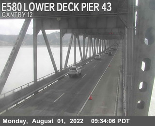 TVR34 -- I-580 :  Lower Deck Pier 43