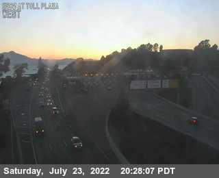 TVR45 -- I-580 : At Toll Plaza