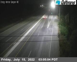 US-101 : Crazy Horse Canyon Rd