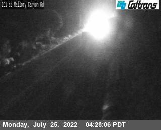 US-101 : Mallory Canyon Rd