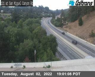 US-101 : San Miguel Canyon Rd