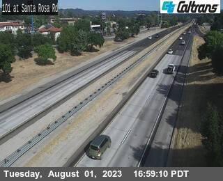 US-101 : Santa Rosa Rd