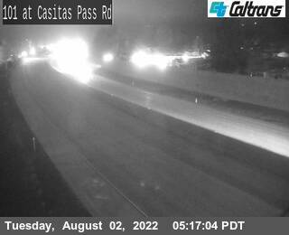 US-101 : South of Casitas Pass Road
