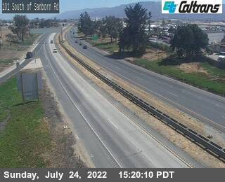 US-101 : South of Sanborn Road