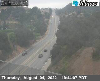 US-101 : South Rd in Prunedale