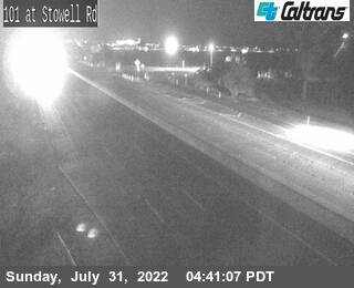 US-101 : Stowell Rd