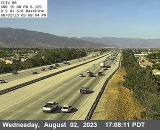 I-15 : (88) 0.5 Miles S of Baseline
