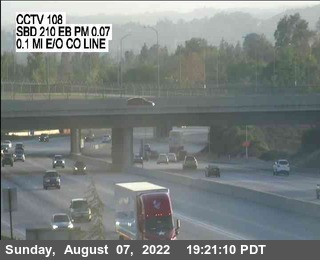 I-210 : (108) 0.1 Miles East of County Line