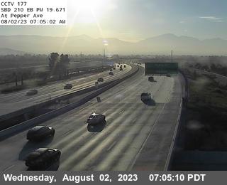 I-210 : (177) 0.5 Miles East Of Riverside