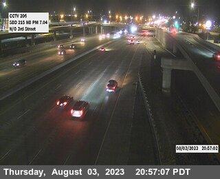 I-215 : (206) N of Third Street