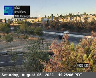 I-215 : (231) SB Murrieta Hot Spring Road