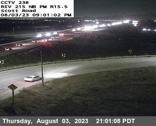 I-215 : (238) Scott Road Offramp