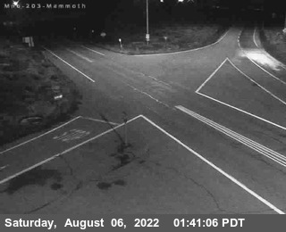 Cal Trans Webcam Hwy 203 into Mammoth Lakes