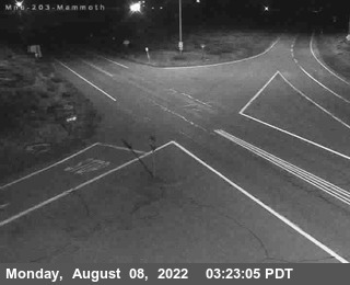 Cal Trans Web Cam View of Mammoth Mountain